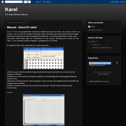 Karel: Manual - Karel El robot