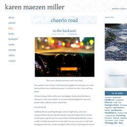 blog « Karen Maezen Miller's Cheerio Road