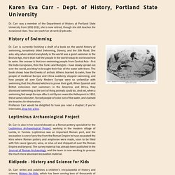 Karen Carr, Portland State University