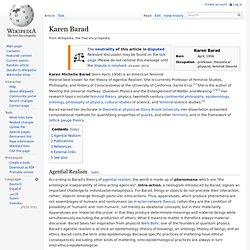 Karen Barad