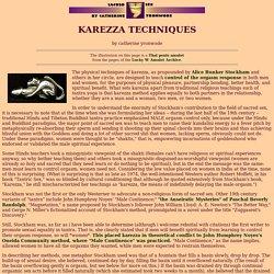 Karezza Techniques