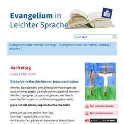 Evangelium in leichter Sprache