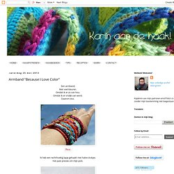 "Armband ""Because I Love Color"""