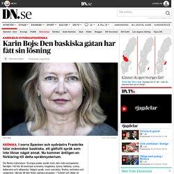 Karin Bojs: Den baskiska gåtan har fått sin lösning