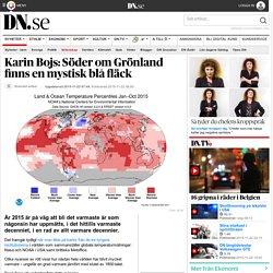 Karin Bojs: Söder om Grönland finns en mystisk blå fläck