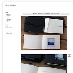 Karine Maussière: Artist book