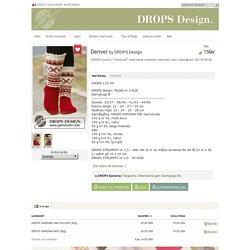"Denver - DROPS sockor i ""Karisma"" med norsk mönster, med eller utan volangkant. Strl 35 till 46. - Free pattern by DROPS Design"