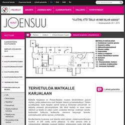 Matkalla Karjalassa -virtuaalikierros - joensuu.fi