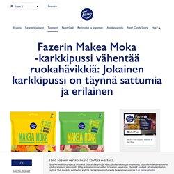 Makea Moka -karkkipussi vähentää ruokahävikkiä: Jokainen karkkipussi on täynnä sattumia ja erilainen - Fazer