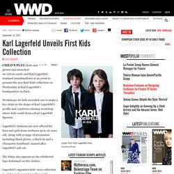 Karl Lagerfeld Sets Karl Kids Collection