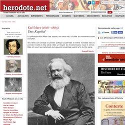 Karl Marx (1818 - 1883) - Das Kapital - Herodote.net