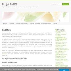 Karl Marx – Projet BaSES