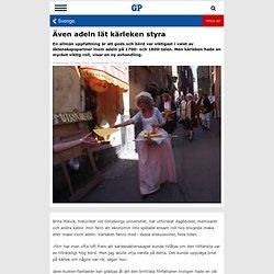 Även adeln lät kärleken styra - Göteborgs-Posten