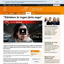 """Kärleken är ingen jävla saga"" - Opinion"