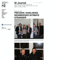 Karlheinz Weinberger Preview – SI Journal