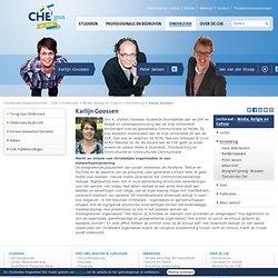 Karlijn Goossen - Kenniskring - Media, Religie en Cultuur - Onderzoek - CHE