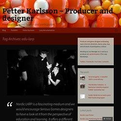 Petter Karlsson – Producent och speldesigner