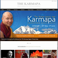 Kagyu Office: the Website of His Holiness Gyalwang Karmapa
