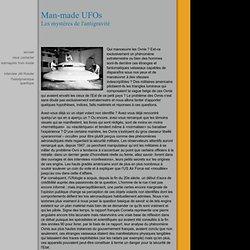 Man-made UFOs : les mystères de l'antigravité