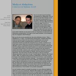 """INTERVIEW mai2005 Stéphane Allix / Docu """"Enlevés"""" - Site KARMAPOLIS"""