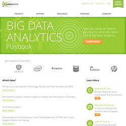 Karmasphere | Big Data Intelligence Software for Developers & Analysts