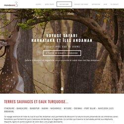 Voyage safari Karnataka et îles Andaman. Circuit Inde du Sud 15 jours