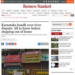 Karnataka bandh over river dispute: All to know before stepping out of home