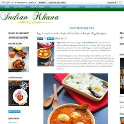 Egg Curry Karnataka Style
