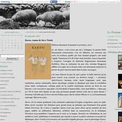 Karoo, roman de Steve Tesich - Le Présent Défini
