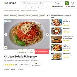 Karotten-Sellerie Bolognese von mistfux