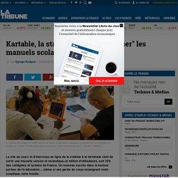 """Kartable, la startup qui veut """"ubériser"""" les manuels scolaires"""
