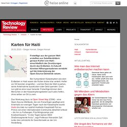 Karten für Haiti technology review