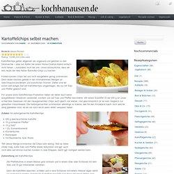 Kartoffelchips selbst machen (Rezept mit Fotos)