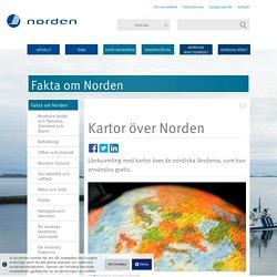 Kartor över Norden — Nordiskt samarbete
