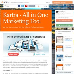Kartra - All in One Marketing Tool