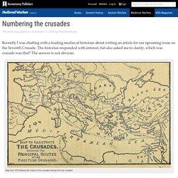Numbering the crusades - Karwansaray Publishers Blog