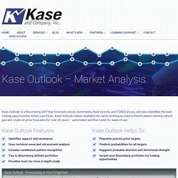 Kase Outlook - Bloomberg App