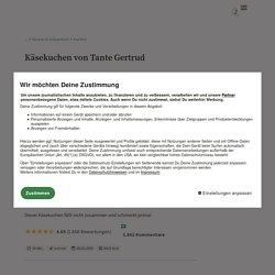 Käsekuchen von Tante Gertrud (Rezept mit Bild) von Ute123
