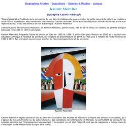 Kasimir Malevitch peintre - Biographie Malevitch Kasimir, oeuvres