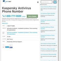 Kaspersky Antivirus Customer Service Phone Number
