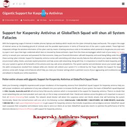 Kaspersky Antivirus Support USA