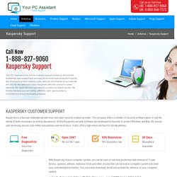 Kaspersky Antivirus Support Number 1-888-827-9060