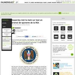 Kaspersky met la main sur tout un arsenal de spywares de la NSA