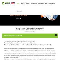 0800-098-8312 Kaspersky Support Number UK