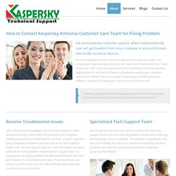 Kaspersky Customer Care Number +1-855-676-2448