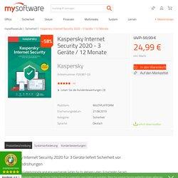 Kaspersky Internet Security 2020 - 3 Geräte / 12 Monate günstig online kaufen - Sofort-Download