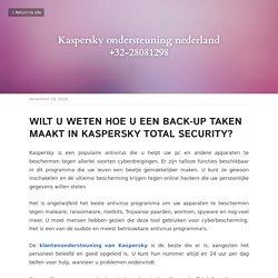 Kaspersky ondersteuning nederland +32-28081298