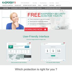 Free Virus Scan - Kaspersky Lab