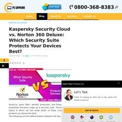 Kaspersky Security Cloud vs. Norton 360 Deluxe