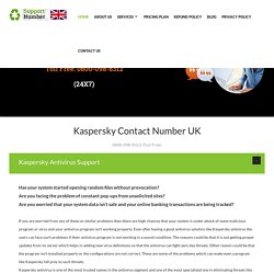 0800-098-8312 Kaspersky Support Number UK